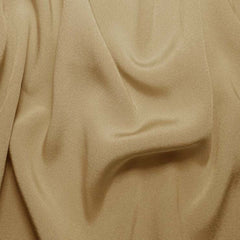 Silk Crepe Back Satin Beige