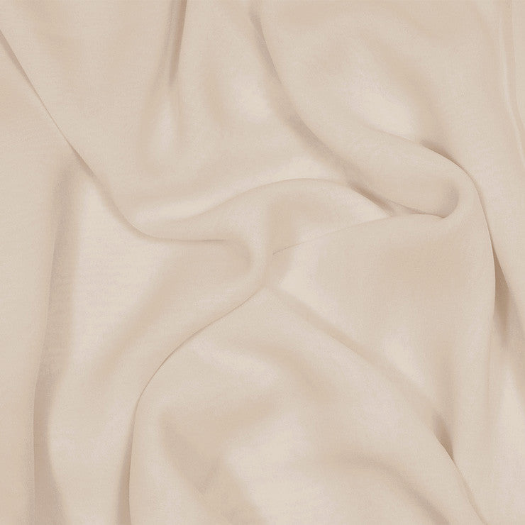 Silk Stretch Chiffon Beige
