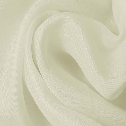 Silk Satin Face Organza Pale Yellow