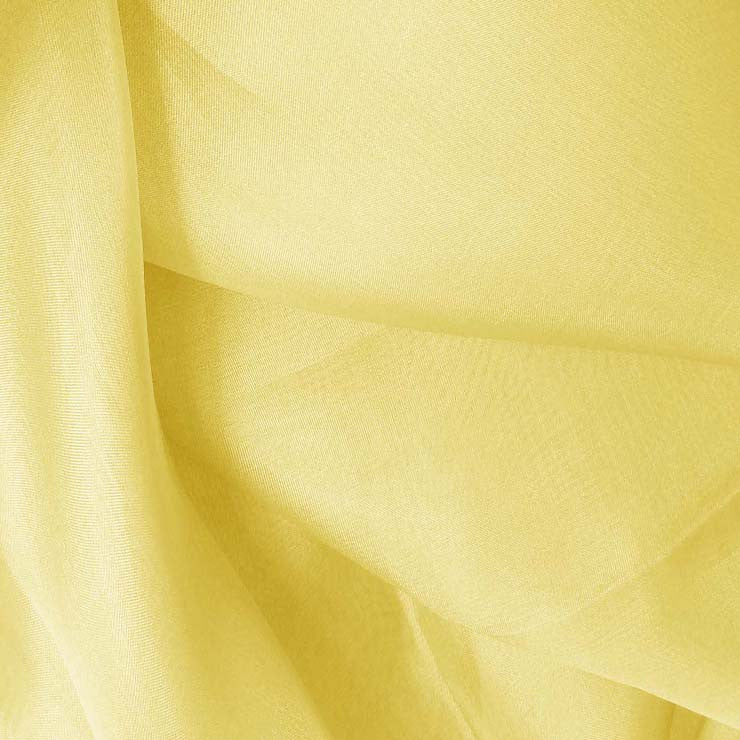 Silk Organza Light Yellow