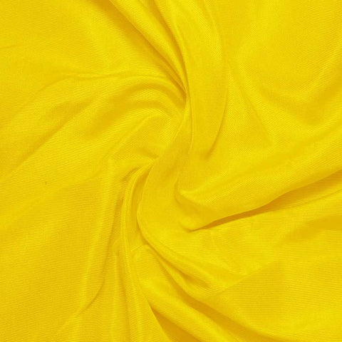 Silk Habotai Lemon Yellow