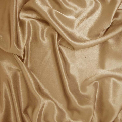 Polyester Crepe Back Satin 21 Bright Gold