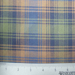 100% Cotton Fabric Checks Collection #2 21 FLN 5003B G - NY Fashion Center Fabrics