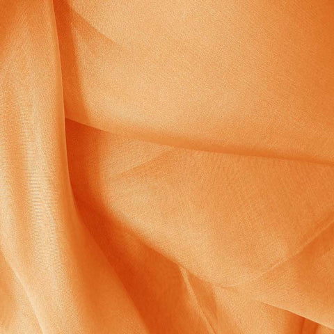 Silk Organza Medium Orange