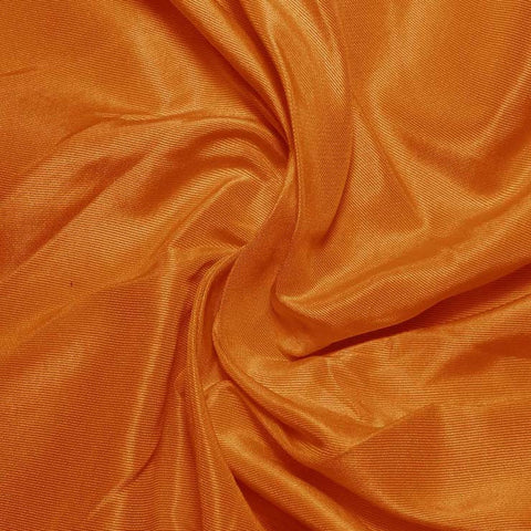 Silk Habotai Medium Orange