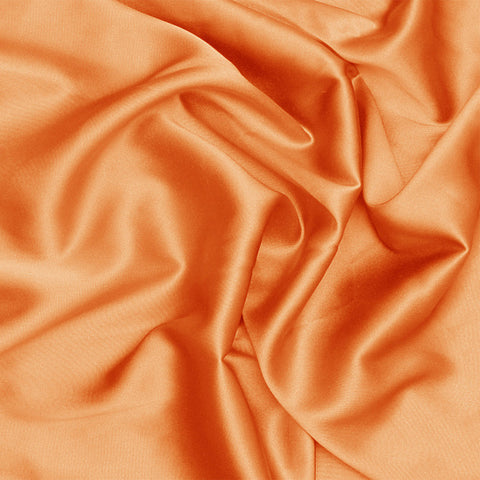 Silk Charmeuse Medium Orange