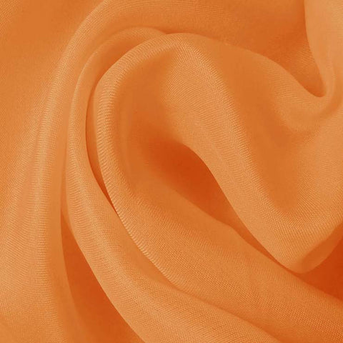 Silk Satin Face Organza Medium Orange