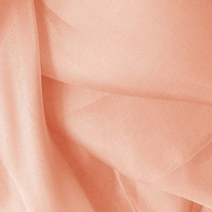 Silk Organza Peach