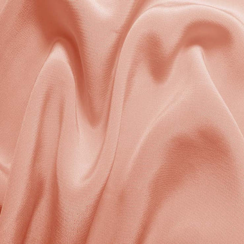 Silk Crepe de Chine Peach