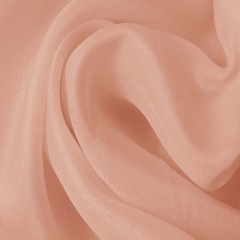 Silk Satin Face Organza Peach