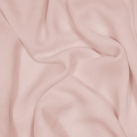 Silk Stretch Chiffon Dusty Peach