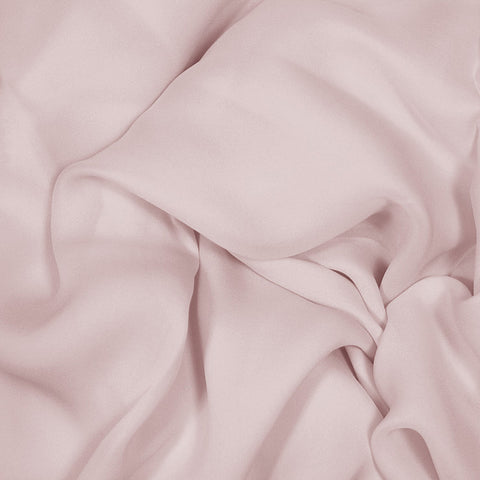 Silk Stretch Georgette Dusty Peach