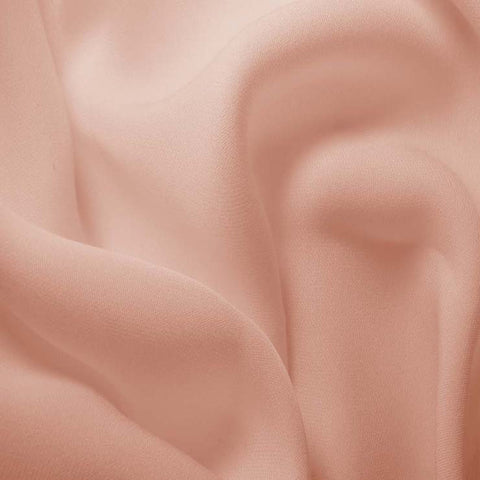 Silk Double Georgette Dusty Peach