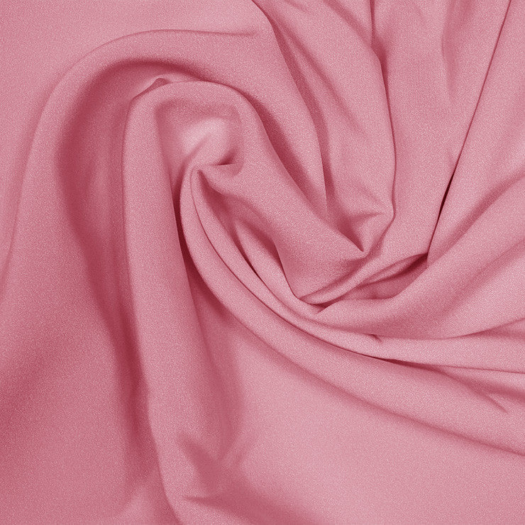 Silk Stretch 4 Ply Crepe Pink Coral