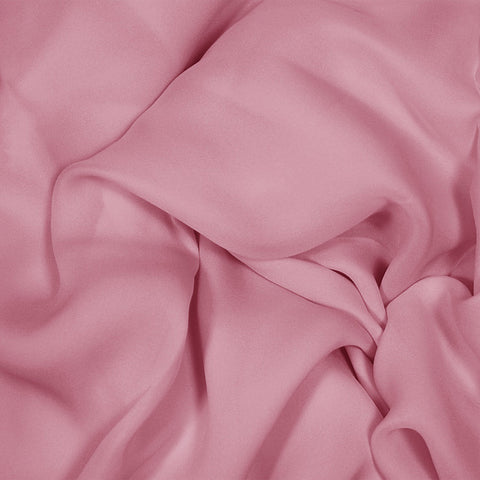 Silk Stretch Georgette Pink Coral