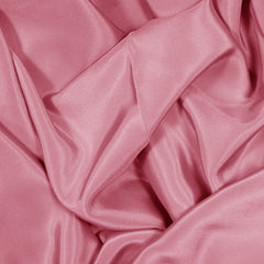 Silk Stretch Crepe De Chine Pink Coral