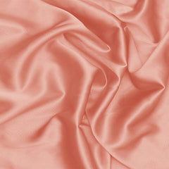 Silk Stretch Charmeuse Coral