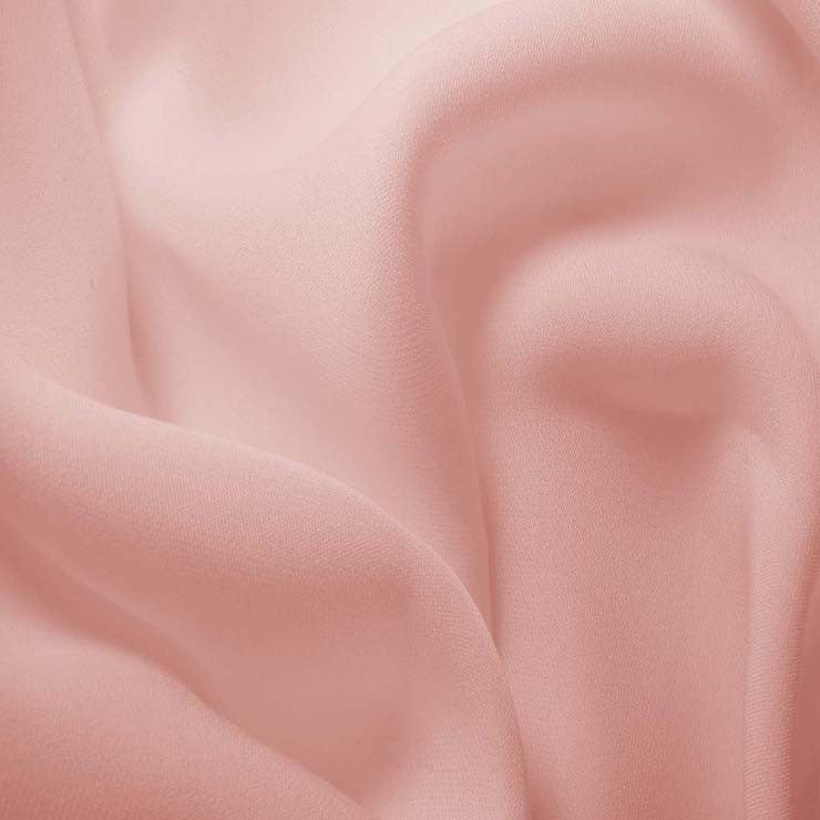 Silk Double Georgette Soft Pink