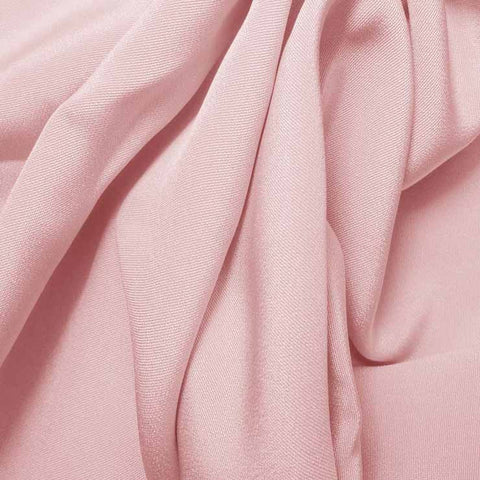 Silk 4 Ply Woven Crepe Soft Pink