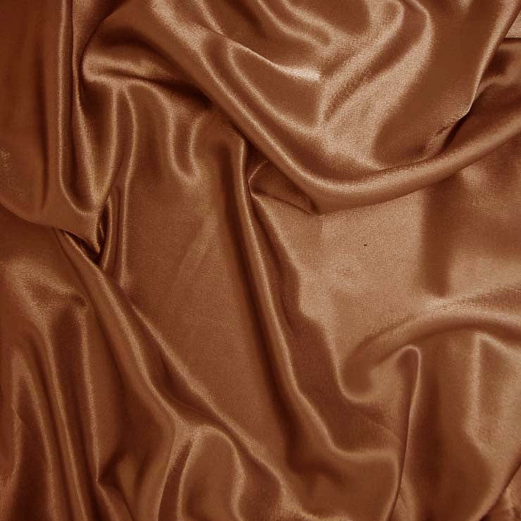 Polyester Crepe Back Satin 22 Antique Gold