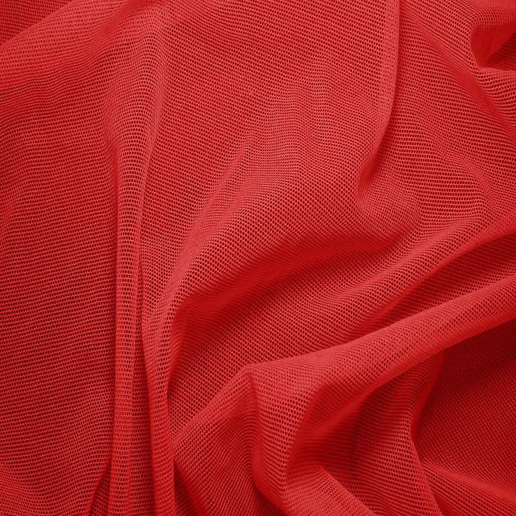 Nylon/Spandex Sheer Stretch Mesh 22 Lipstick - NY Fashion Center Fabrics