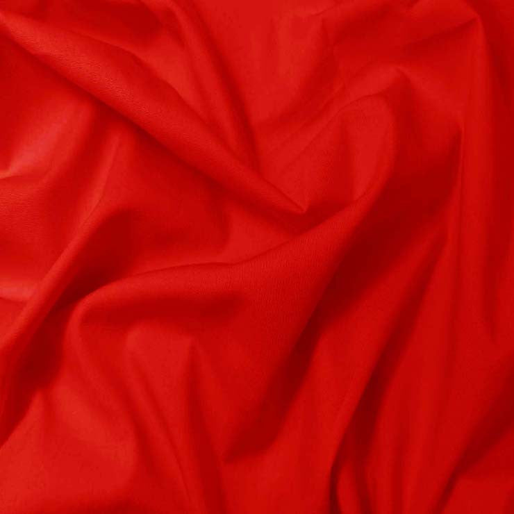 Pima Cotton Broadcloth - 30 Yard Bolt 22 Red