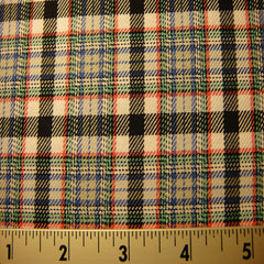 100% Cotton Fabric Checks #8 22 TWL9224R B - NY Fashion Center Fabrics