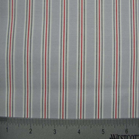 100% Cotton Fabric Stripes Collection #13 22 Y D8641GRY - NY Fashion Center Fabrics