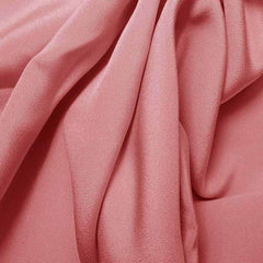Silk 4 Ply Woven Crepe Baby Pink