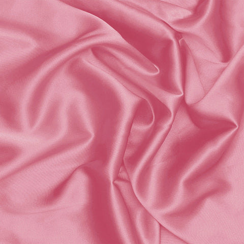 Silk Stretch Charmeuse Pink Rose