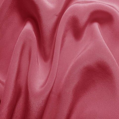 Silk Crepe de Chine Pink Rose