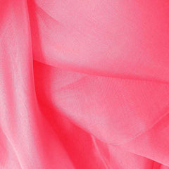 Silk Organza Hot Pink