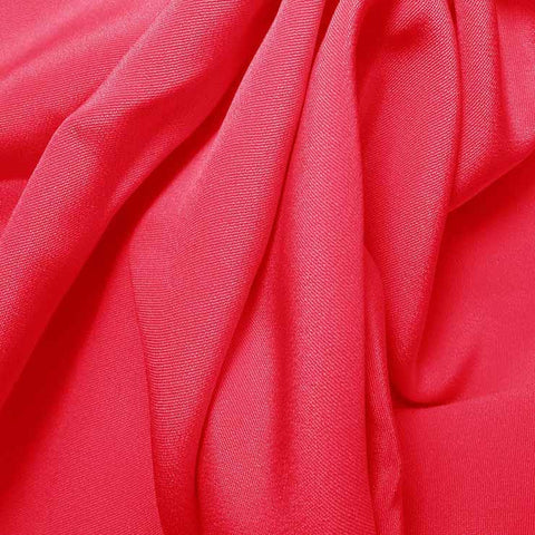 Silk 4 Ply Woven Crepe Hot Pink
