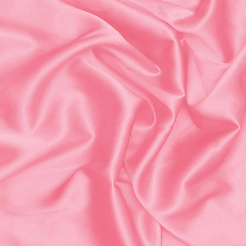 Silk Stretch Charmeuse Hot Pink