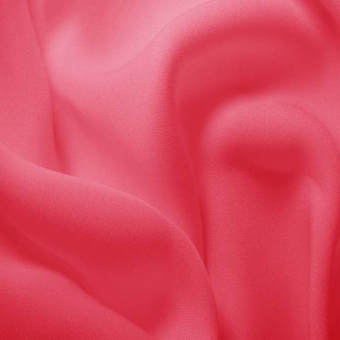 Silk Double Georgette Hot Pink
