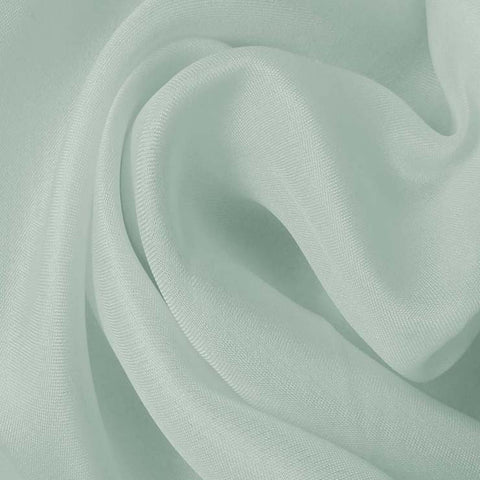 Silk Satin Face Organza Blue Jade