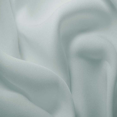 Silk Double Georgette Baby Blue