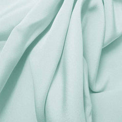 Silk 4 Ply Woven Crepe Baby Blue