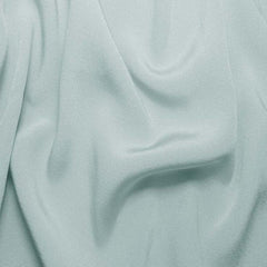 Silk Crepe Back Satin Baby Blue