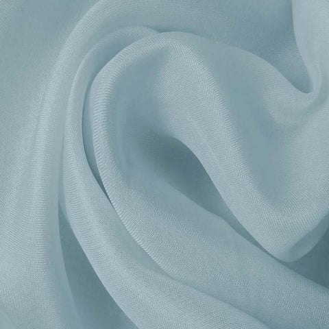 Silk Satin Face Organza Baby Blue