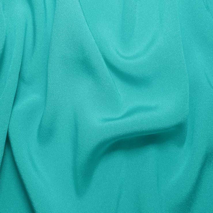 Silk Crepe Back Satin Light Turquoise