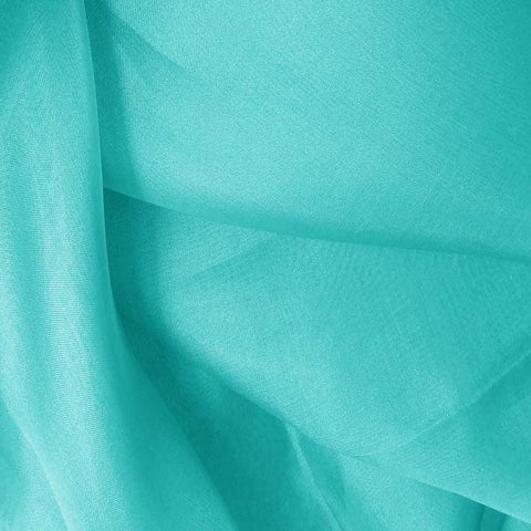 Silk Organza Light Turquoise