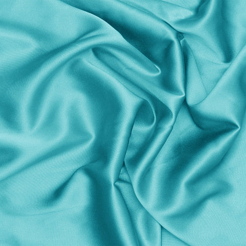 Silk Charmeuse Light Turquoise