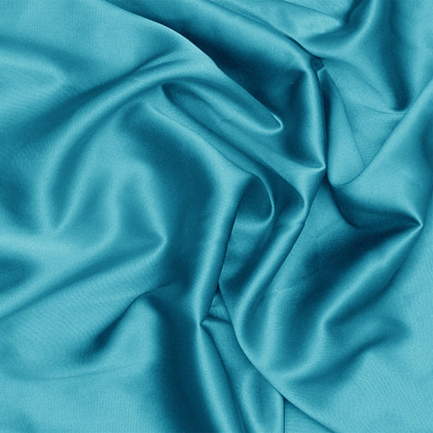 Silk Charmeuse Turquoise