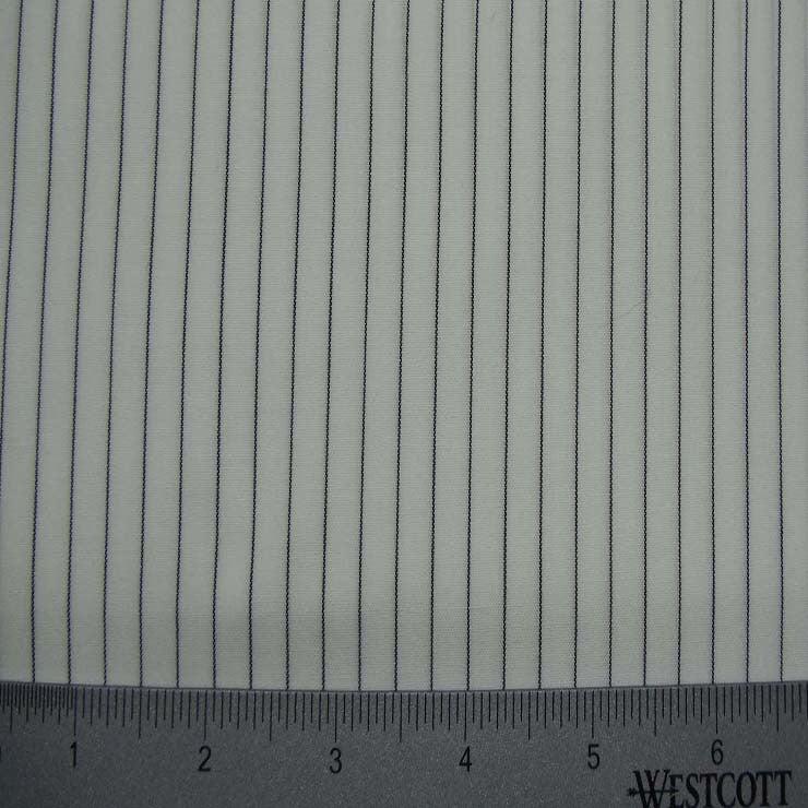 100% Cotton Fabric Stripes Collection #13 23 Y D8033BLK - NY Fashion Center Fabrics