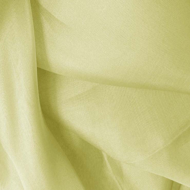 Silk Organza Lime Wheat
