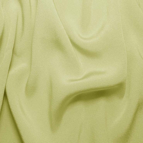 Silk Crepe Back Satin Lime Wheat
