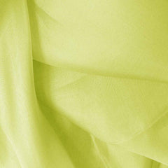 Silk Organza Lemon Green