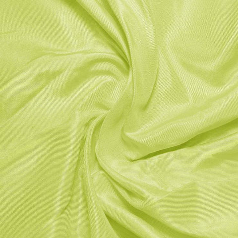 Silk Habotai Lemon Green