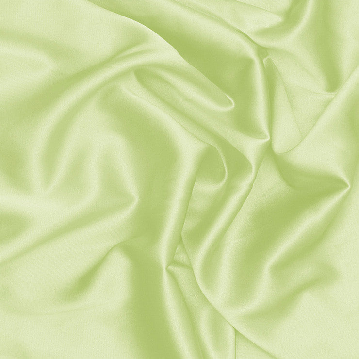 Silk Charmeuse Lemon Green